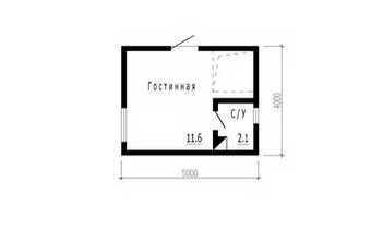 Проект Руан, 1 этаж