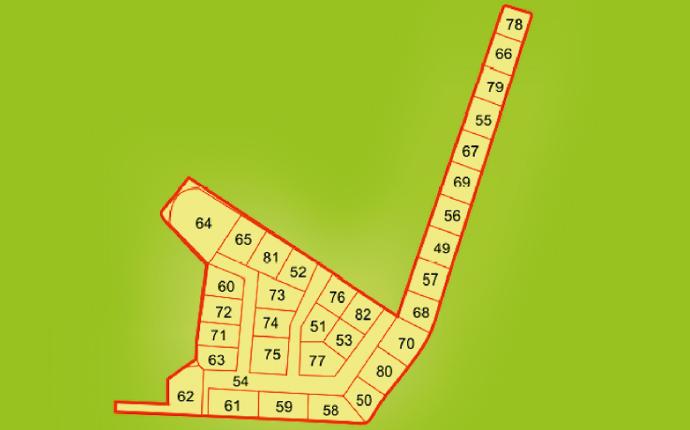 Схема участков Откосово Западное-2