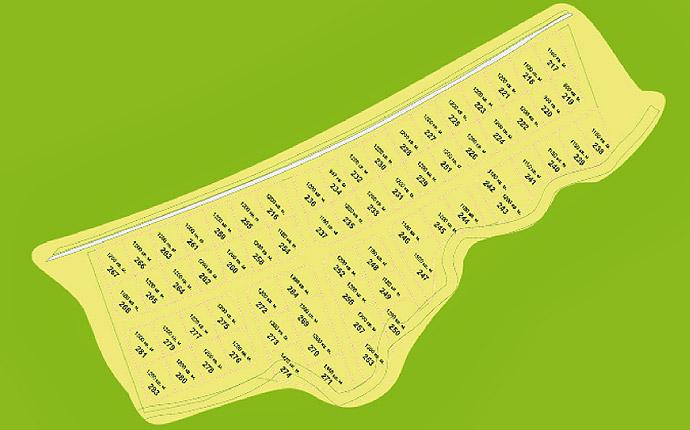 Схема участков Откосово Южное