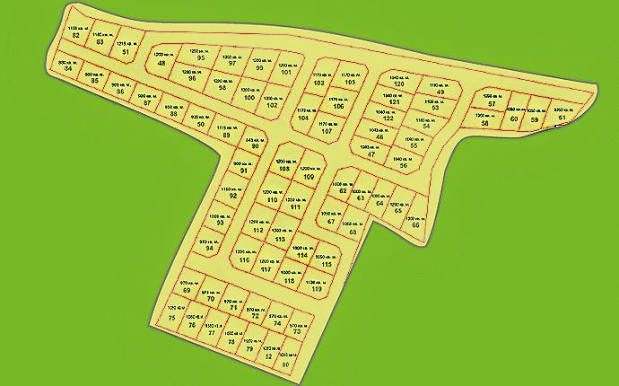 Схема участков Откосово Западное-1